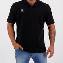 Camiseta-Umbro-FS-Class-Preto-Branco-Frontal