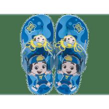 Chinelo-Infantil-Grendene-Luccas-Neto-Mask-Azul-Amarelo-