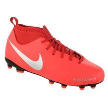 Chuteira-de-Campo-Menino-Nike-Phantom-VSN-Vermelho