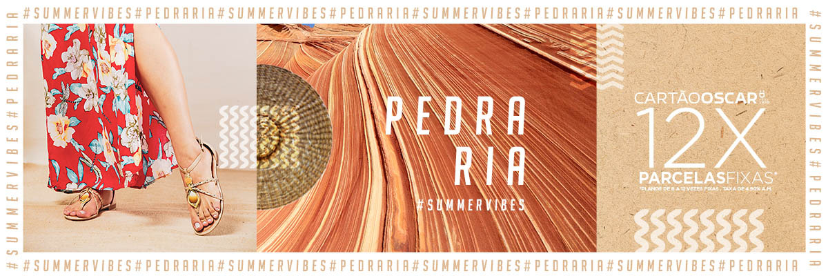 Banner Summer Vibes Pedraria