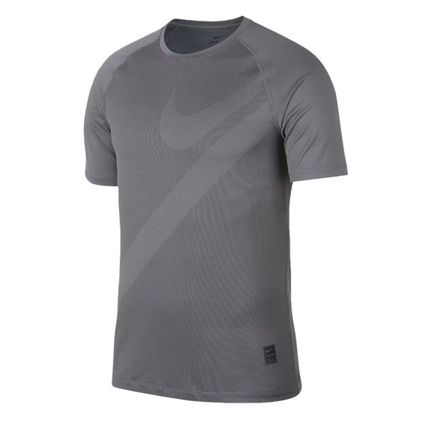 Camiseta-Nike-Poliester-Cinza-Masculino