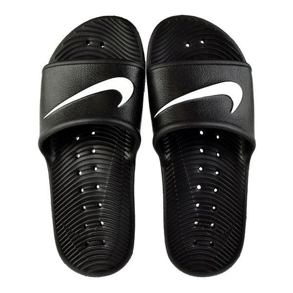 Chinelo-Slide-Menino-Nike-Kawa-Shower-Preto-Branco