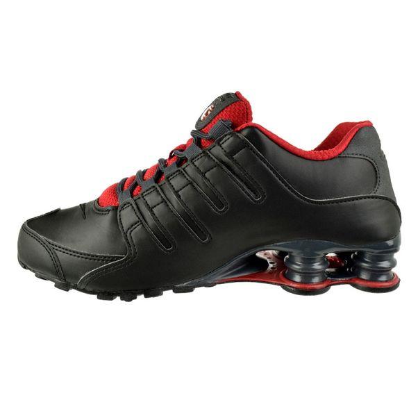 Tenis-Nike-Shox-NZ-Preto-Cinza-Masculino