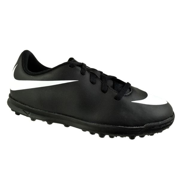 Chuteira-Society-Menino-Nike-Bravata-II-Black-White