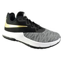 Tenis-Nike-Air-Max-Infuriate-III-Low-Preto-Dourado
