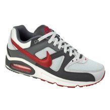 Tenis-Nike-Air-Max-Command-Cinza-Vermelho