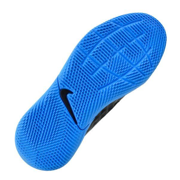 Tenis-Futsal-Menino-Nike-Legend-8-Black-Blue