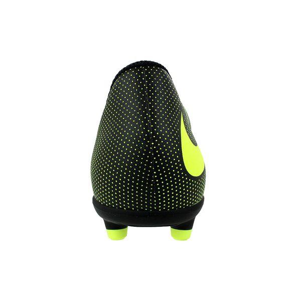 Chuteira-Campo-Menino-Nike-Bravata-II-FG-Preto-Verde