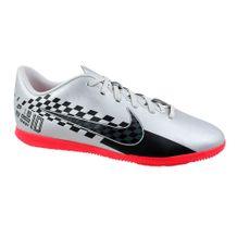 Tenis-Futsal-Nike-Vapor-13-Club-IC-Prata-Preto