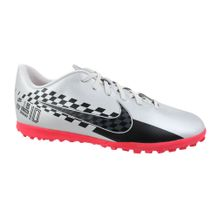 Tenis-Society-Nike-Vapor-13-Club-TF-Prata-Preto