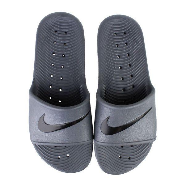 Chinelo-Slide-Nike-Kawa-Shower-Cinza-Preto