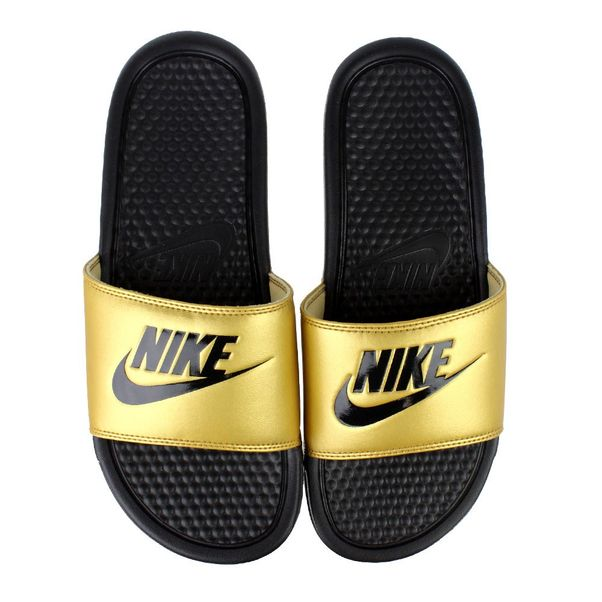 Chinelo-Slide-Nike-Benassi-JDI-Black-Gold-Unissex
