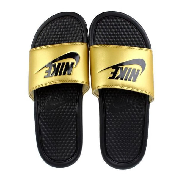 Chinelo-Slide-Nike-Benassi-JDI-Black-Gold-Unissex
