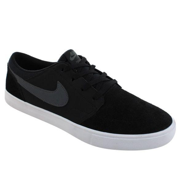 Tenis-Casual-Nike-SB-Portmore-II-Preto-Cinza