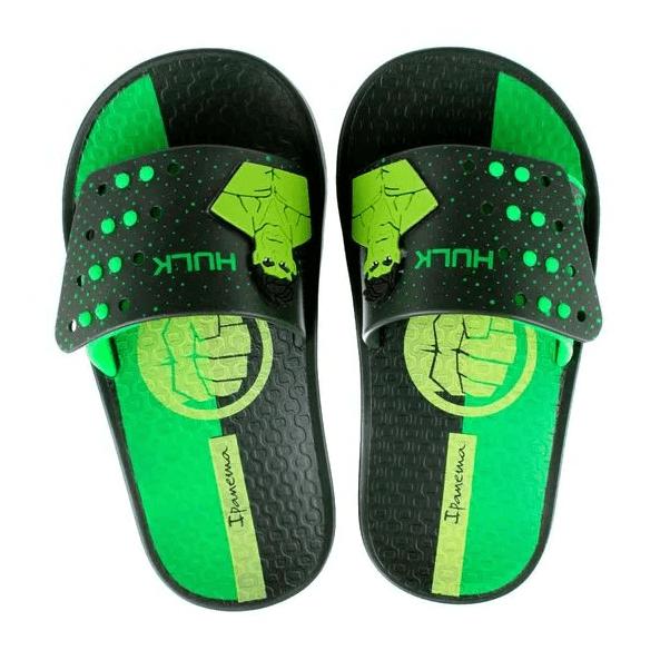 Chinelo-Slide-Menino-Ipanema-Vingadores-Verde