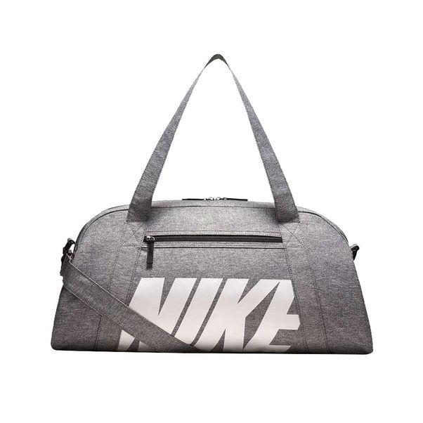 Mala-Nike-Gym-Club-Cinza-Branco-Unissex