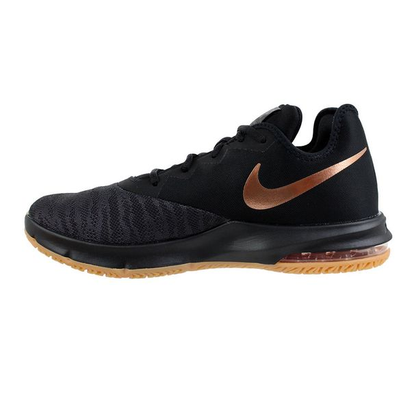 Tenis-Nike-Air-Max-Infuriate-III-Low-Black-Gold