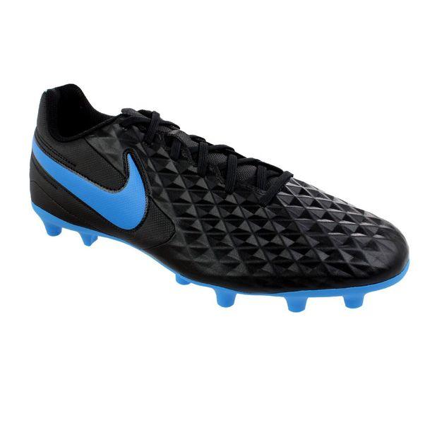 Chuteira-Campo-Nike-Legend-8-Club-Black-Blue