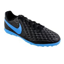 Chuteira-Society-Nike-Legend-8-Club-Black-Blue
