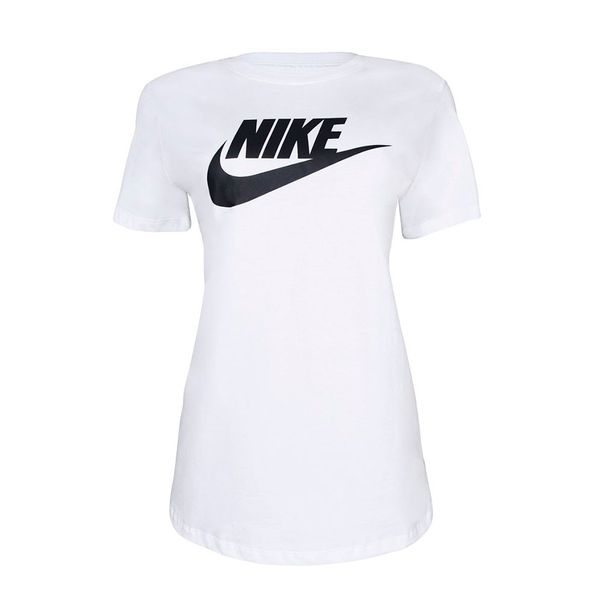Camiseta-Nike-Essential-Icon-Futura-Branco-Preto