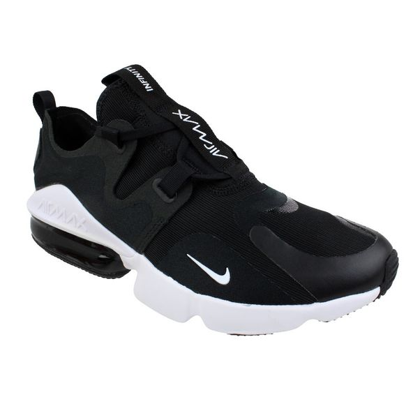 Tenis-Nike-Air-Max-Infinity-Preto-Branco-Masculino
