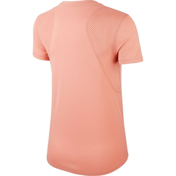 Camiseta-Nike-Run-Top-SS-Rosa-Prata