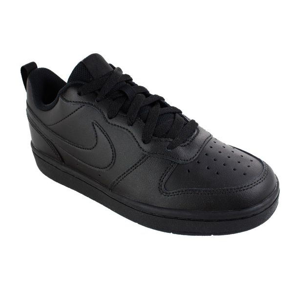 Tenis-Casual-Infantil-Nike-Court-Borough-Low-Preto