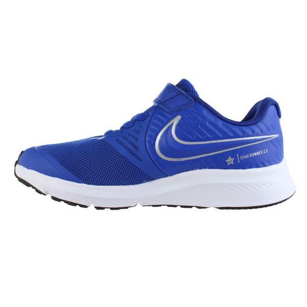 Tenis-Infantil-Nike-Star-Runner-Azul-Prata
