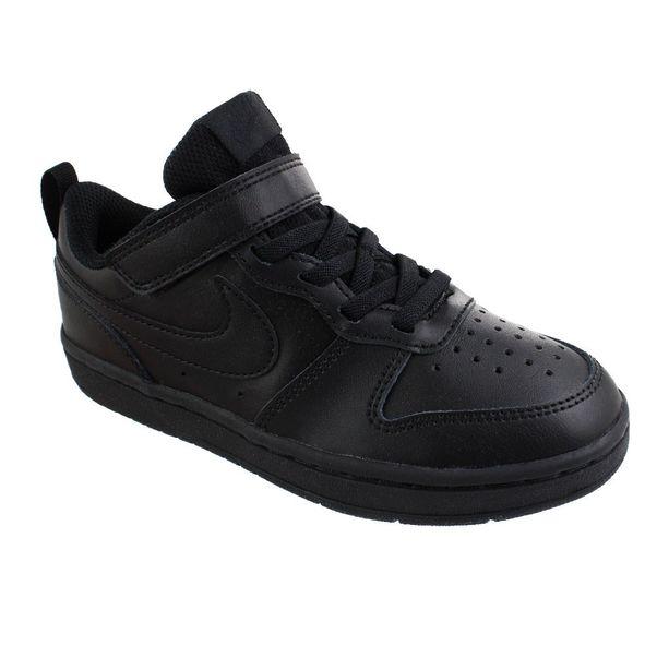 Tenis-Casual-Infantil-Nike-Court-Borough-Low-2-Preto