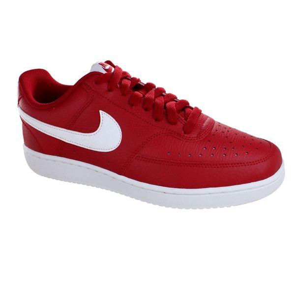 Tenis-Casual-Nike-Court-Vision-Vermelho-Branco