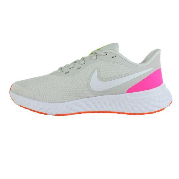 Tenis-Nike-Revolution-5-Bege-Branco-Feminino