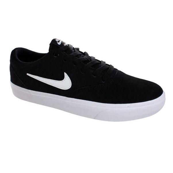 Tenis-Casual-Nike-SB-Charge-Suede-Preto-Branco