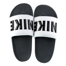 Chinelo-Slide-Nike-Offcourt-White-Black