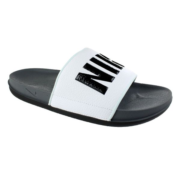 Chinelo-Slide-Nike-Offcourt-White-Black