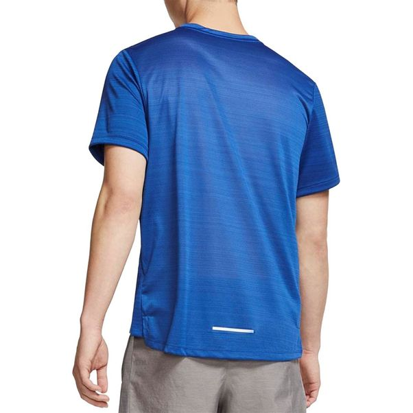 Camiseta-Nike-Miler-Azul-Prata-Masculino