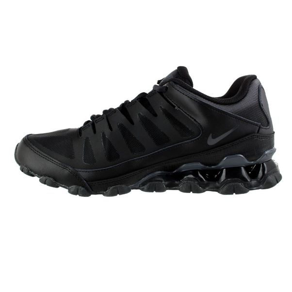 Tenis-Nike-Reax-8-TR-Mesh-Preto-Cinza-