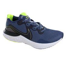 Tenis-Nike-Renew-Run-Marinho-Prata-Masculino