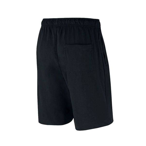 Bermuda-Nike-Sportswear-Club-Fleece-Black-White