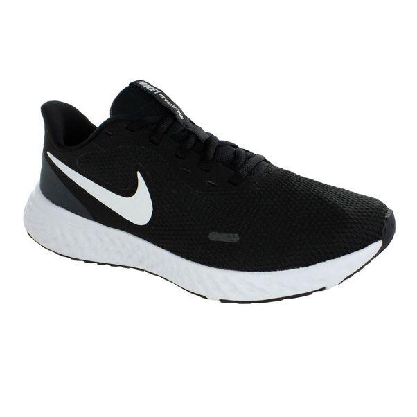Tenis-Nike-Revolution-5-Black-White-Feminino