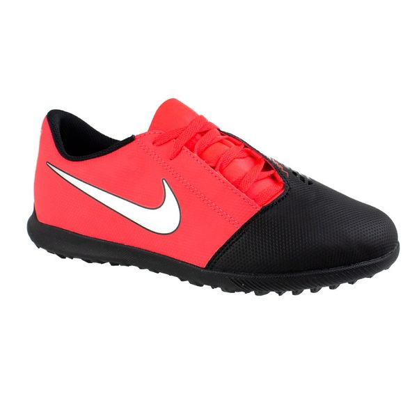 Chuteira-Society-Infantil-Nike-Jr-Phantom-Venom-Red-Silver