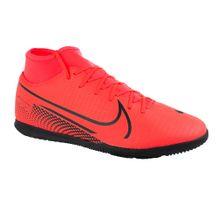 Tenis-Futsal-Nike-Superfly-7-Club-Red-Black