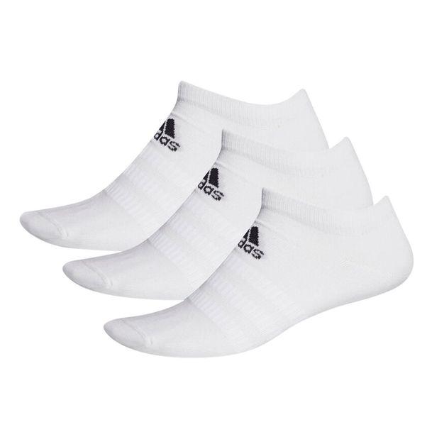 Kit-Meia-Tres-Pares-Cano-Curto-Adidas-Low-Cut-Branco-Preto