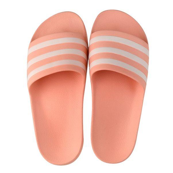 Chinelo-Slide-Adidas-Adilette-Aqua-Rosa-Branco