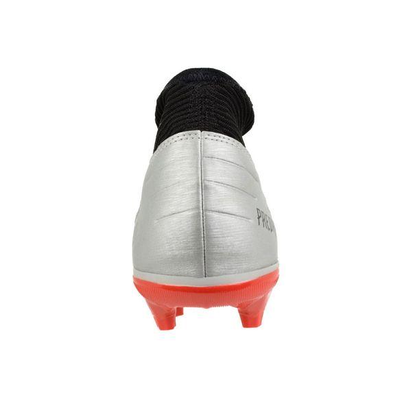 Chuteira-Campo-Adidas-Predator-Prata-Preto