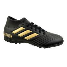 Chuteira-Society-Adidas-Predator-Black-Gold