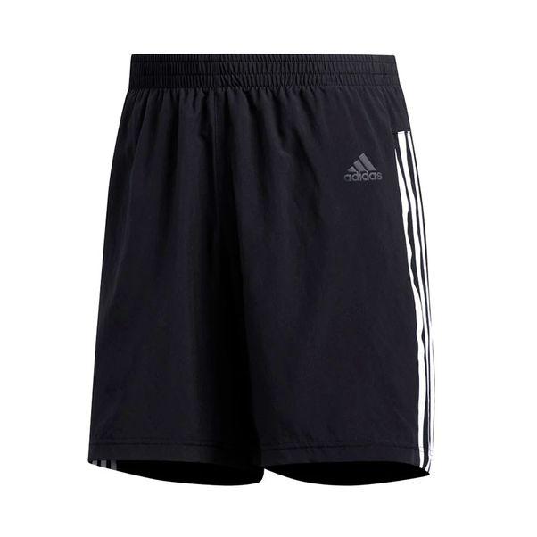 Short-Adidas-Run-It-3-Stripes-Preto-Branco