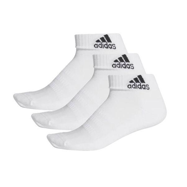 Kit-Meia-Tres-Pares-Cano-Curto-Adidas-Cushioned-Branco-Preto