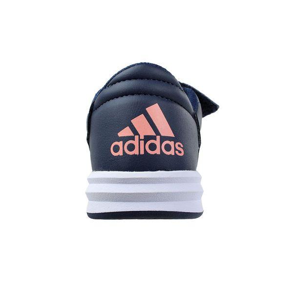 Tenis-Menina-Adidas-AltaSport-CF-Marinho-Rosa