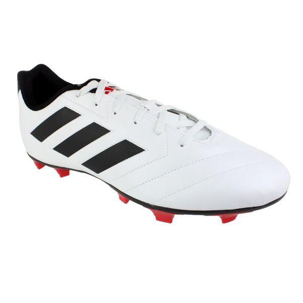 Chuteira-Adidas-Goletto-VII-Branco-Preto-Masculino