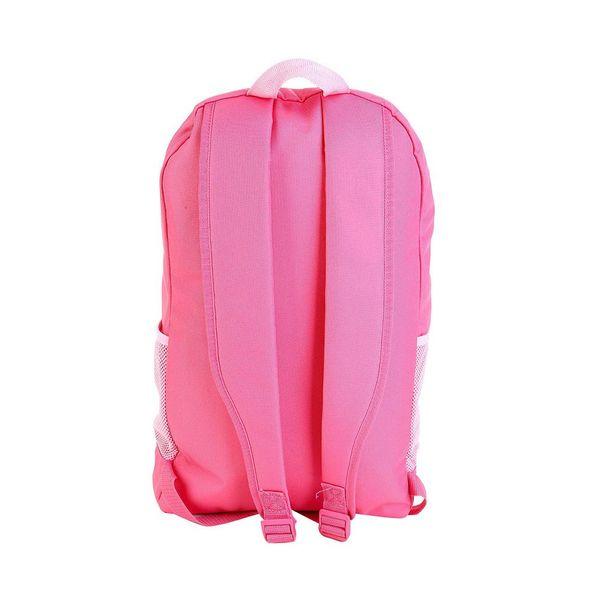 Mochila-Adidas-Linear-Core-Rosa-Branco